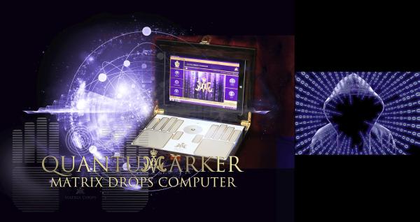 Quantum marker - Matrix Drops Computer