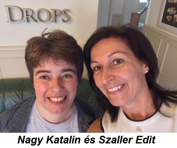 Nagy Katalin és Szaller Edit