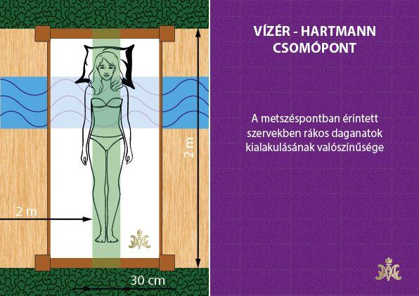 Földsugárzások - Vízér - Hartmann metszéspontja
