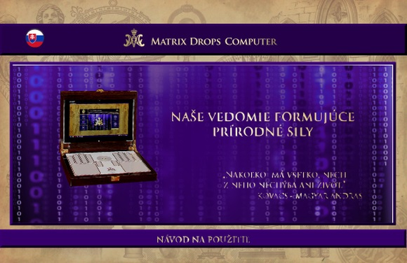 MATRIX DROPS COMPUTER - NÁVOD NA POUZITIE