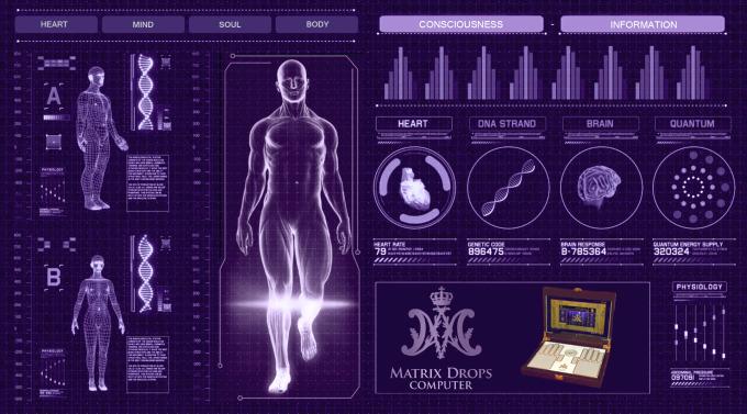Matrix Drops - A gyógyíthatatlannak tűnő betegségek megelőzésének és megoldásainak kódjai