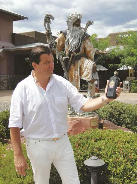 Kovács-Magyar András in Arizona