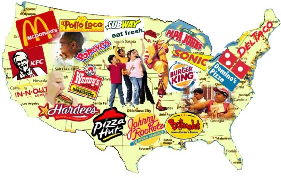 Fast food nation USA